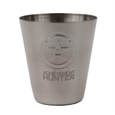 ACHIEVEMENT HUNTER STAINLESS STEEL SHOT GLASS