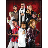 ELEVEN LITTLE ROOSTERS POSTER