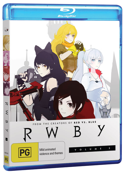 RWBY VOLUME 2 BLURAY