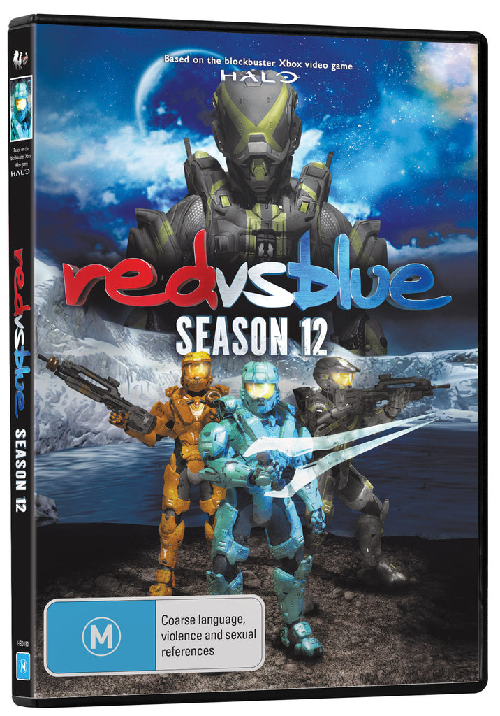 RED VS. BLUE SEASON 12 DVD