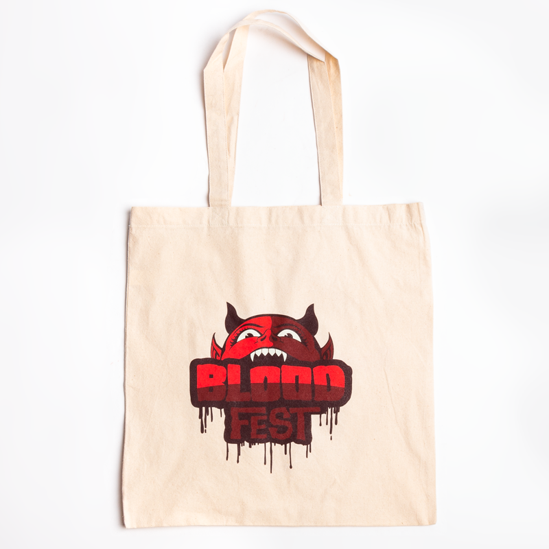 Blood Fest Double Sided Tote