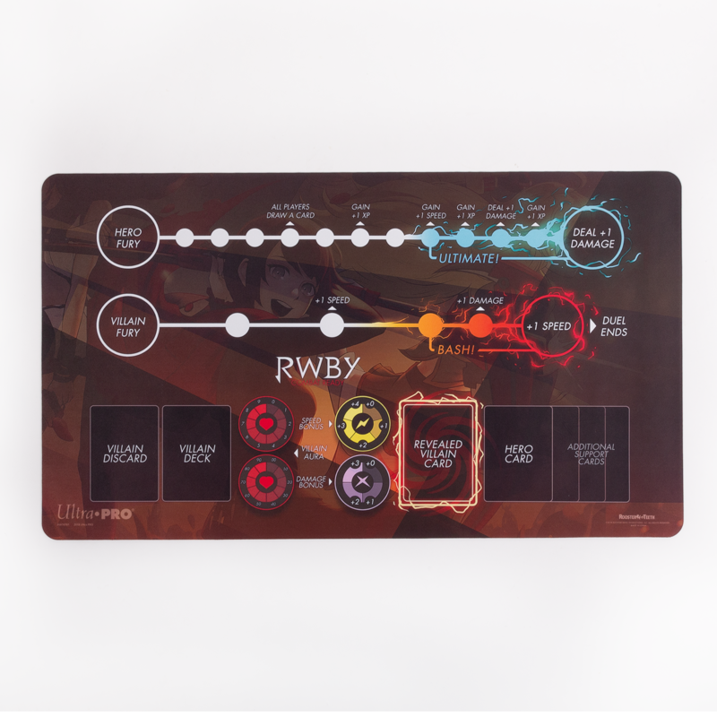 RWBY Combat Ready Play Mat-Game Board