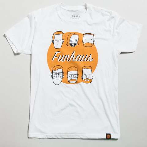 FUNHAUS FACES SHIRT