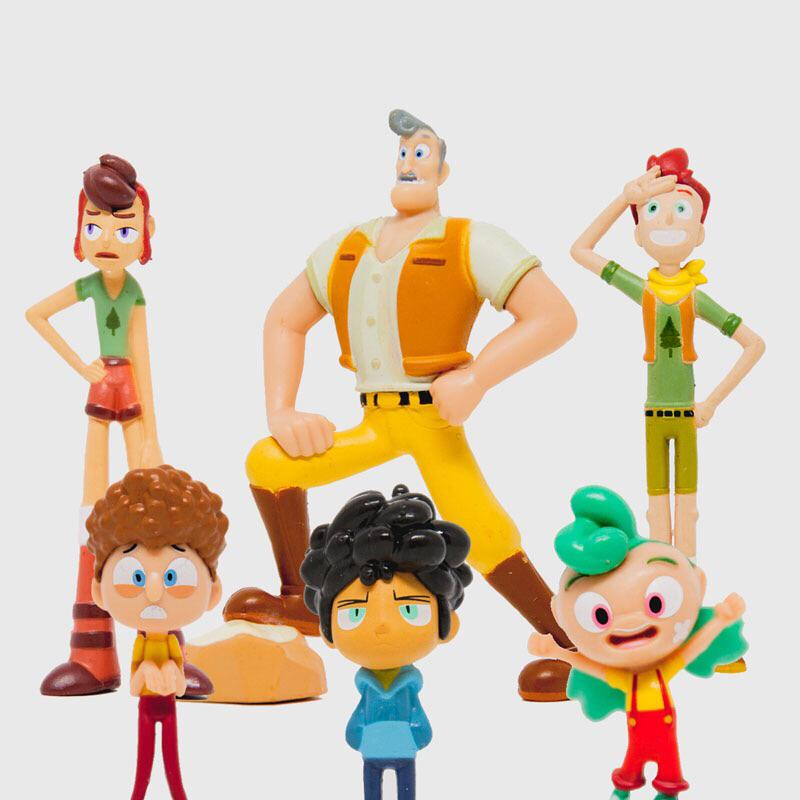 CAMP CAMP FIGURE SET OF 6