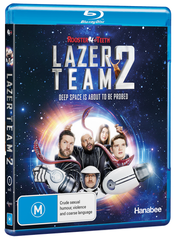 Lazer Team 2 Blu-Ray