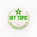 Off Topic Logo Vinyl Decal