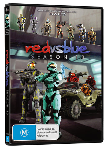 RED VS BLUE SEASON 13 DVD