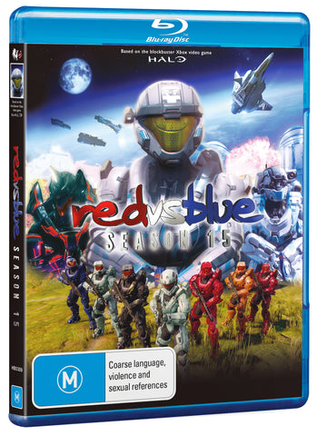 RED VS BLUE: SEASON 15 (BLU-RAY)