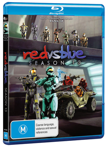 RED VS BLUE SEASON 13 (BLU-RAY)