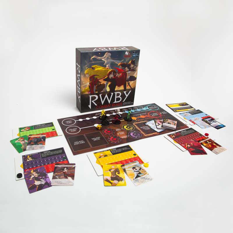 RWBY COMBAT READY BOARD GAME