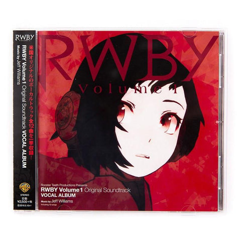 RWBY VOLUME 1 SOUNDTRACK (JAPANESE RELEASE)