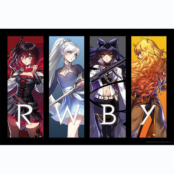 RWBY VOLUME 4 RETRO REVEAL POSTER