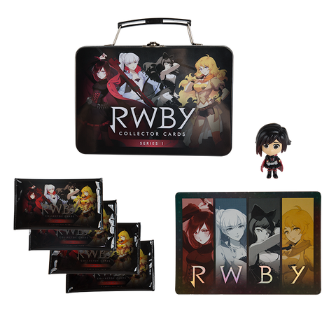 RWBY SERIES 1 COLLECTIBLE TRADING CARD TIN