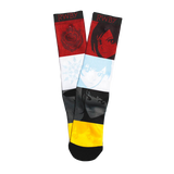 TEAM RWBY FACES BIOWORLD SOCKS