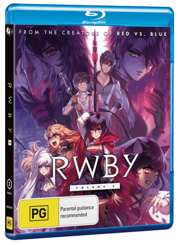RWBY DVD + BLURAY