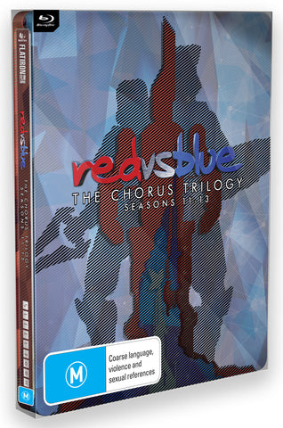RED VS BLUE: THE CHORUS TRILOGY (BLU-RAY)