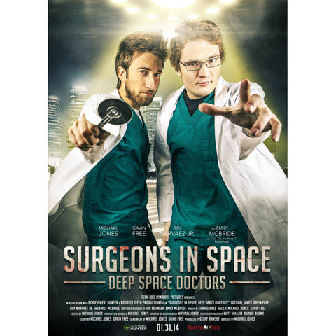 AH SURGEON SIMULATOR MOVIE POSTER (A1)