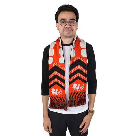 DOUBLE SIDED ROOSTER TEETH SOCCER SCARF