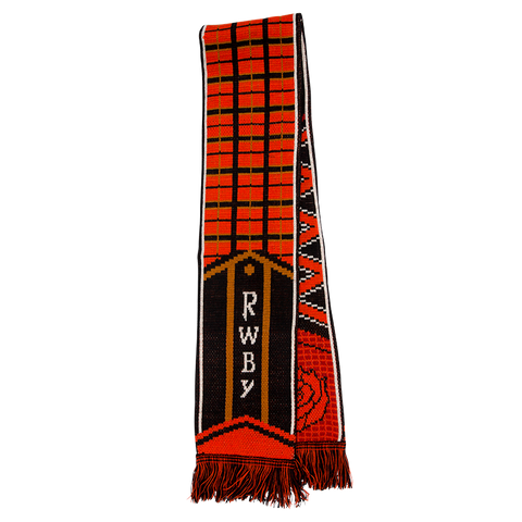 DOUBLE SIDED RWBY SOCCER SCARF