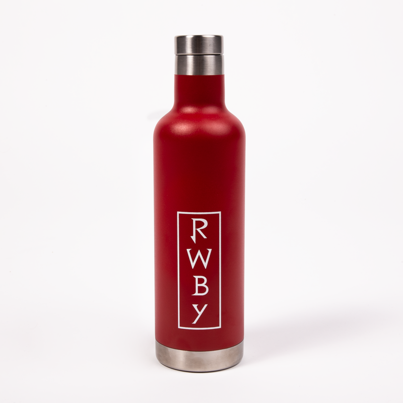 RWBY ICONIC STAINLESS STEEL WATER BOTTLE