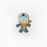 CAMP CAMP SPACE KID PIN