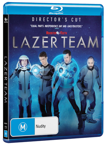 LAZER TEAM - DIRECTOR'S CUT (BLU-RAY)