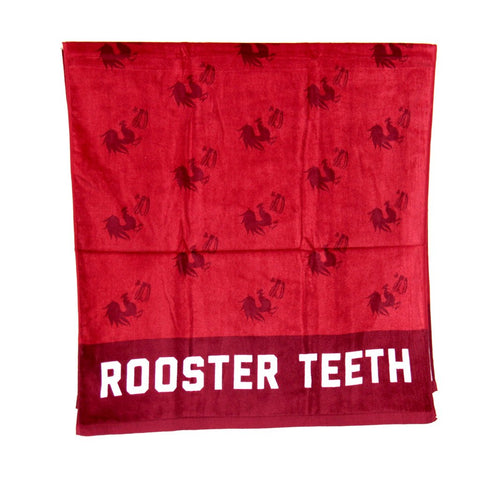 ROOSTER TEETH BEACH TOWEL