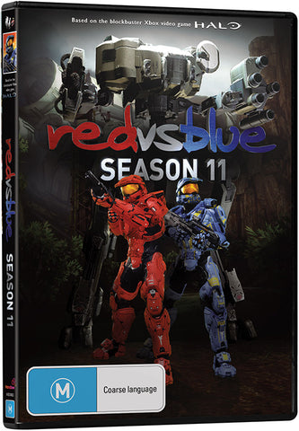 RED VS. BLUE SEASON 11 DVD