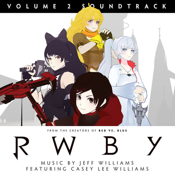 RWBY VOLUME 2 SOUNDTRACK: 2 CD SET