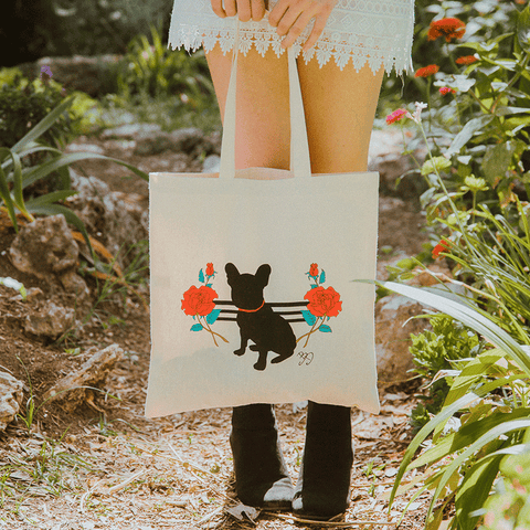 Barbara Dunkelman - Frenchie Tote