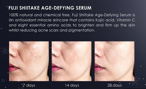 Fuji Shiitake Beauty Serum Benefits After 7 Days