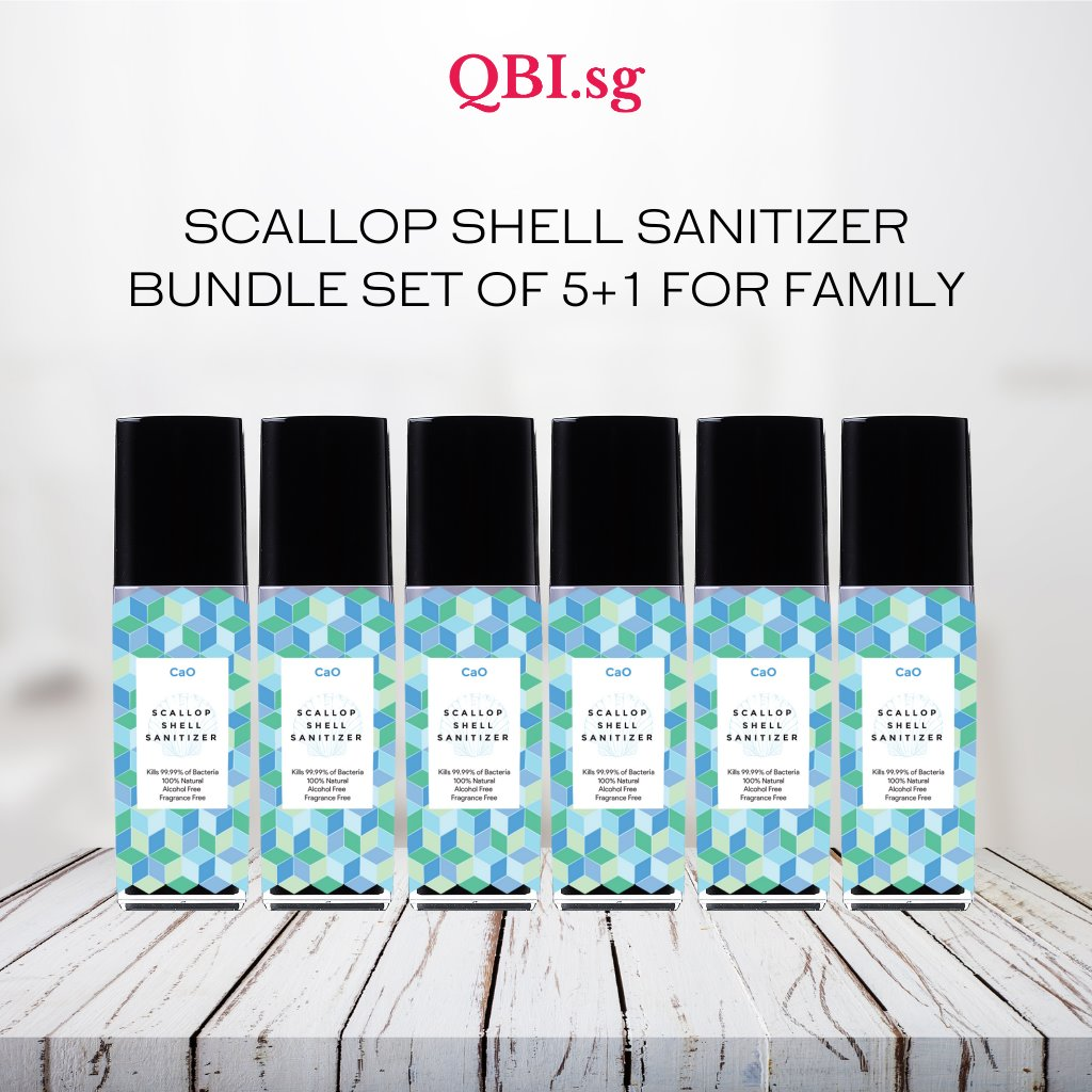 qbi sg hand sanitizer bundle set family