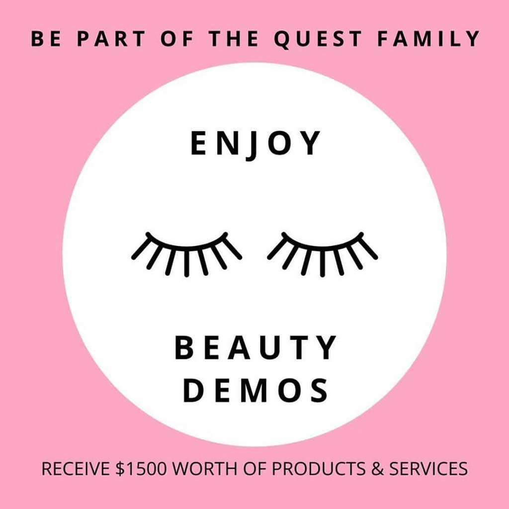 qbi sg membership beauty demos