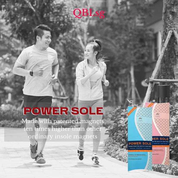 qbi sg powersole made with patented magnet