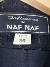 Load image into Gallery viewer, Blazer rayé Naf Naf 70's double boutonnage
