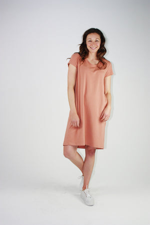 Betty Dress- Clay