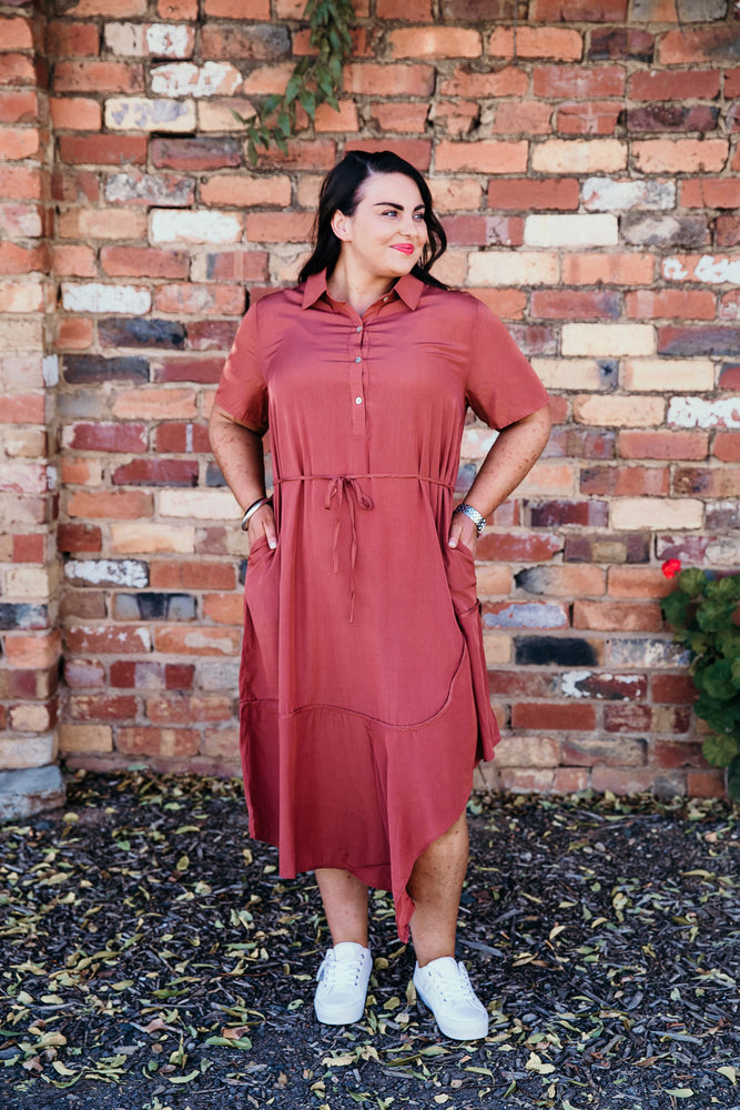 Stella Midi Shirt Dress