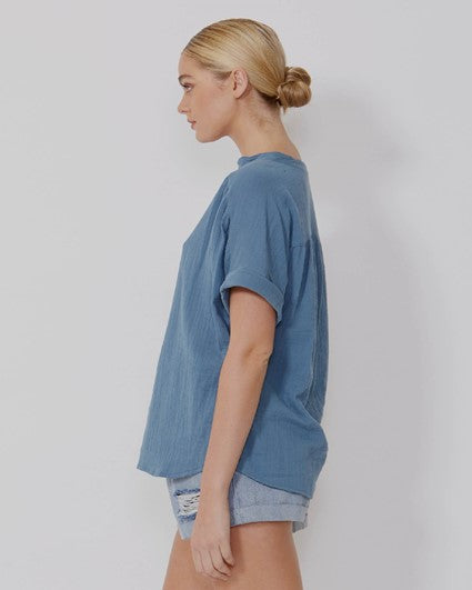 Dharma Top - Blue
