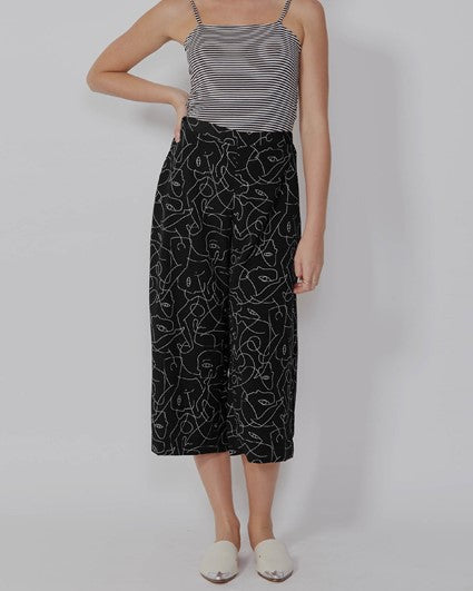 Load image into Gallery viewer, Nidia Pant - Black Print