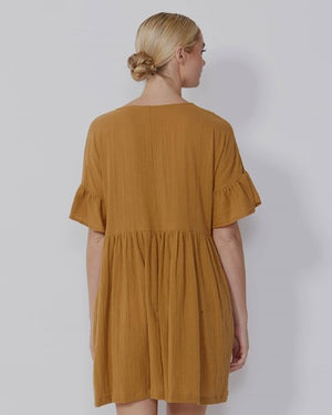 Load image into Gallery viewer, Dharma Dress - Gold