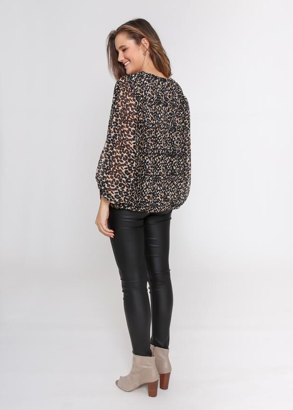 Milan Top - Leopard