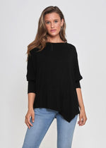 Asymmetrical top = Black