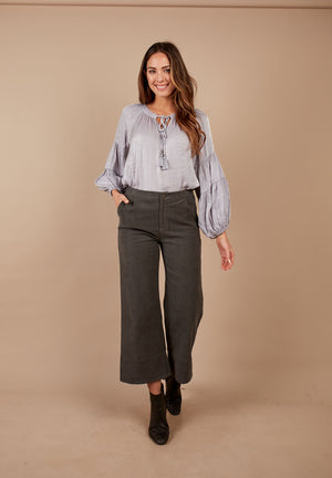 Wide Corduroy Pant
