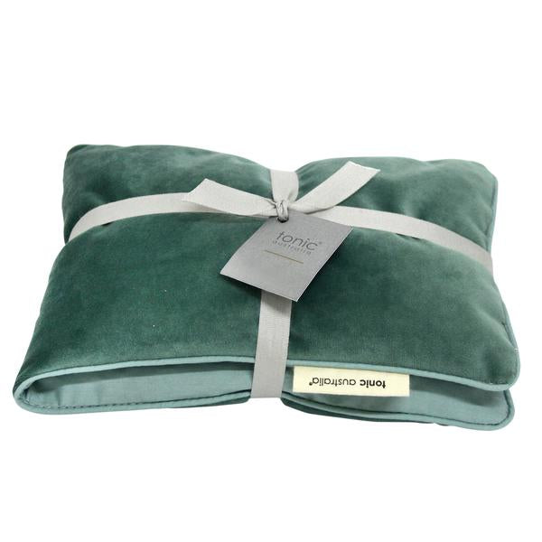 Heat Pillow Luxe Velvet Moss