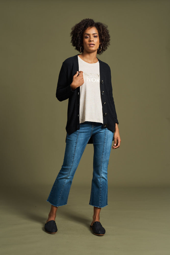 Load image into Gallery viewer, Emmeline Cardigan - Onyx