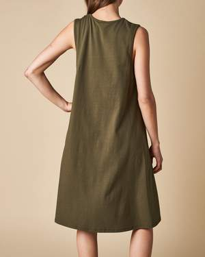 Tank Swing Dress - Khaki