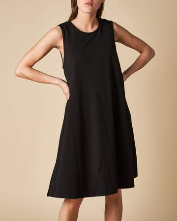 Load image into Gallery viewer, Tank Swing Dress - Black