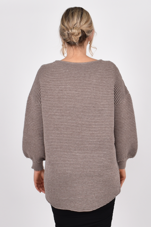Load image into Gallery viewer, Billow Knit Winter Sand - One Size