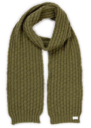 Load image into Gallery viewer, Basket Weave Scarf - Fern