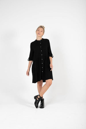 KoKo Shirt Dress - Black